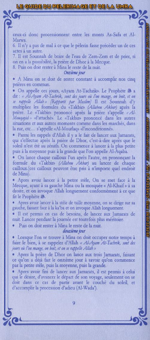 Guide du pélerinage (page 9)